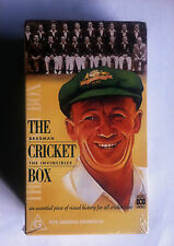 2 x BRAND NEW VHS VIDEOS THE CRICKET BOX,THE INVINCIBLES,DON BRADMAN DOCUMENTARY