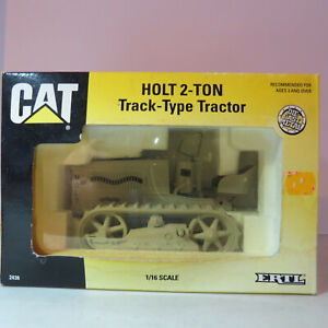 Ertl CAT Holt 2Ton Track Tractor Highly Detailed Special Ed 1/16 CAT2438DA-B