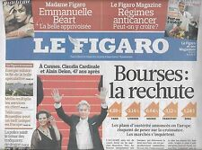 LE FIGARO N°20461 15 MAI 2010 BOURSES CHUTENT/ DELON/ DOUGLAS/ TODT/ ALLEN/ CUBA