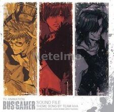 New 0957 TV Animation BUS GAMER Sound File CD Music Original Soundtrack O.S.T.