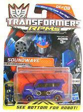 TRANSFORMERS ROTF METAL HERO SERIES RPM SOUNDWAVE RARE Brand New UK