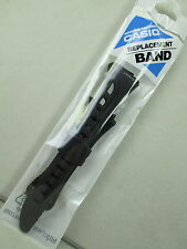 Genuine Casio PHYS RFT-100 RFT100 watch band strap black resin rubber