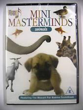 """Mozart pour bébés Mini Masterminds """" Animals """" DVD sans zonage - Neuf"""