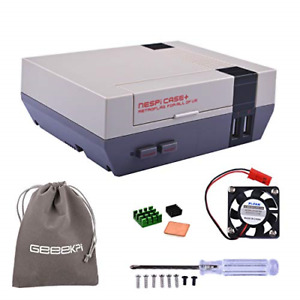 Retroflag NESPi Case+ Plus Functional Power Button with Safe Shutdown & Cooling