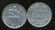 POLYNESIE francaise 1 franc 1991