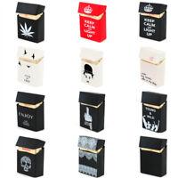 1Pcs Retro Style Silicone 20 Cigarettes Case Boxes Holder Tobaccos Pocket Cover