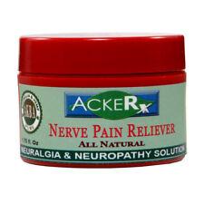 Intensive Nerve Pain Cream with Hemp CB Wintergreen Frankincense Myrrh