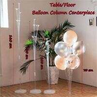 Balloons Column Stand Display Set Base Tube Birthday Wedding Party Decoration