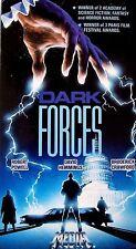 Dark Forces (VHS, 1989) Robert Powell, David Hemmings, Broderick Crawford