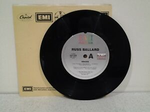 "Russ Ballard Voices Vinyl Record 7"" Single"