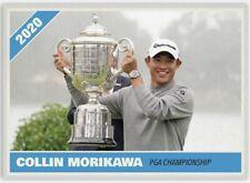 COLLIN MORIKAWA 2020 PGA GOLF CHAMPIONSHIP WINNER CUSTOM MADE RARE ART CARD