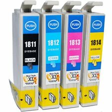 4-Pack 18XL Compatible Epson Expression Home XP-312 Ink Cartridges (NON OEM)