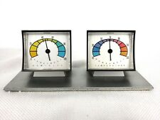 Honeywell Hygrometer Temperature Humidity Gauge Partridge Family Colors Rainbow
