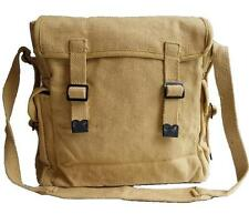 Messenger Military Army Vintage Bag Canvas Satchel Shoulder Haversack Webbing