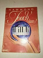 Vintage Sheet Music HAMMON TOUCH 1 Organ Course 2nd Ed. Beginning Guide
