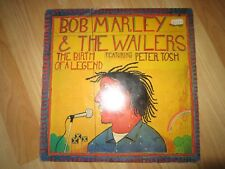 LP - Bob Marley & The Wailers - The Birth of a legend - feat  Peter Tosh - 1977