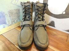 Polo Gray Suede Boots Men's 13D #812102111