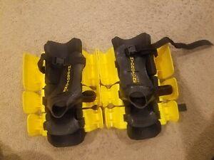 Hydro-Tone Boots Adjustable Hydro Tone Aqua Resistance Therapeutic Exercise