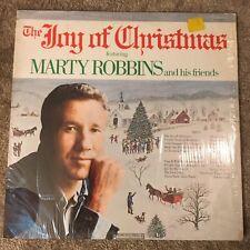 Marty Robbins - The Joy of Christmas Album 1972 Vinyl 33 Columbia Record Label