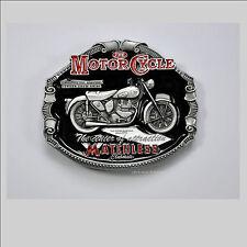 Classic Matchless British Motorcycle Motorrad Gürtelschnalle Belt Buckle *084