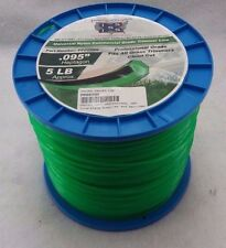 .095 5lb HEPTAGON Commercial String Trimmer Line Roll Fits Echo Redmax Stihl
