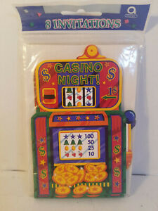 Misc NEW Sealed Party Invitations-YOU CHOOSE-Casino, Card, Fiesta Parties & 2-UP