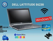 """Dell E6230 INTEL CORE i5-3RD GEN,12.5"""", HDD:320GB RAM:4GB WIN 10 WIFI USB HDMI"""