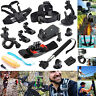 12in1 Head Chest Mount Floating Monopod Accessories Kit For GoPro 1 2 3 4 Camera