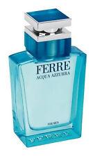 Acqua azzurra di Gianfranco Ferre Eau de Toilette Spray 100ml per uomo nuovi,
