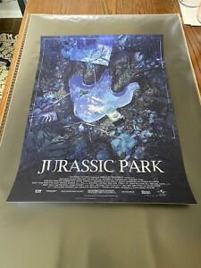 Matthew Woodson Jurassic Park *Signed* Limited Edition Print Nt Mondo