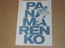 PANAMARENKO Booklet UNIVERSUM 2014 NL FR ENG