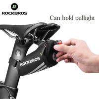 ROCKBROS MTB Bicycle Waterproof Saddle Road Bike Bag Cycling Rear Seat Tail Pack