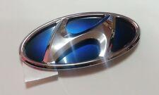 For Hyundai Sonata YF Hybrid 2011-2013 OEM Parts Blue H Logo Front Grille Emblem