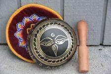"Tibetan Singing Bowls With Striker, 4.5"" Wide"