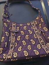 Vera Bradley Paisley Hipster - Simply Violet - NEW condition!