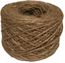 Natural 2 Ply Twisted Jute Twine Rope Bird Parrot Toy Craft Parts Long 100YARDS