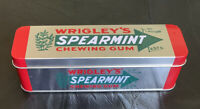 Wrigley's Spearmint Chewing Gum Collectible Advertising Tin
