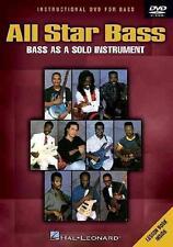 ALL-STAR BASS SERIES - BASS AS A SOLO INSTRUMENT NEW DVD