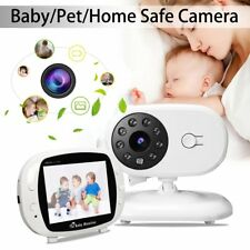 3.5 inch Video Lcd Baby Monitor Video Infant Monitor Wireless Camera + Audio Bc