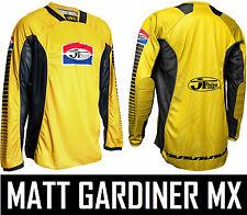 Jt Racing Pro Tour Motocross Mx Jersey Retro Evo Enduro Moto Camisa Top Nueva