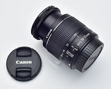 MINT Canon Zoom Lens EF-S 18-55mm f/3.5-5.6 IS II Canon EF-S Filter & Caps #2149