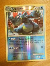 Carte Pokémon rare Holo reverse Aligatueur 130 PV 20/123 (Heartgold Soulsilver)