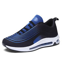 Mens Air Cushion Sneakers Breathable Outdoor Sports Running Casual Walking Shoes