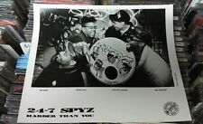 24-7 SPYZ - HARDER THAN YOU  - RARE 1989  RECORD RELEASE PROMO 8X10 PHOTO