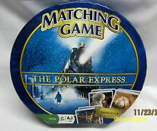 The Polar Express MATCH, Board GAME, Fun for the Entire Family
