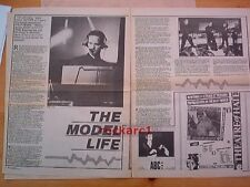 KRAFTWERK the model life 2 pages 1981 UK ARTICLE / clipping