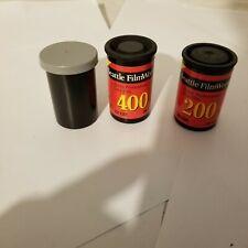 3 expired unused film Seattle filmworks kodak 400 and 200