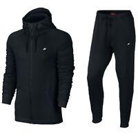 Men's Nike Sportswear Modern Full Tracksuit Set Cotton Zip Hoodie Jogger Hoody