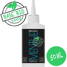 E-liquide Bio 3mg Menthe 50MPVG|50%VG 60ml Cigarette électronique🔥PRIX PROMO🔥