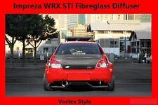 Fibreglass Spoiler Rear Diffuser for 04-up Subaru Impreza WRX STi Vortex Style